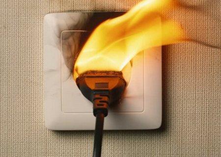 Пожары из-за электропроводки